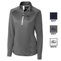 LADIES CBUK HALF ZIP OVERNIGHT